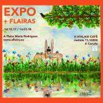 Cartaz expo + FLAIRAS 14/12/2017. A' Atalaia café Rúa Justicia,11 15002 A Coruña