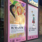 Cartaz gala 8 de marzo no teatro Colón, A Coruña